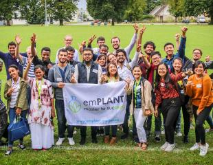 étudiants du programme Erasmus Mundus Master Program in Plant Breeding - emPLANT